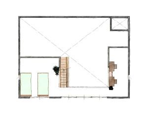羽_2階平面図