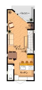 く_2階平面図-2